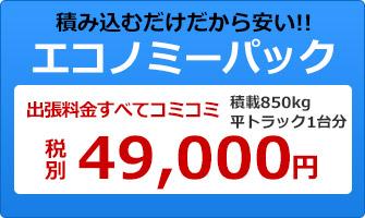 エコノミーパック 税別49000円~
