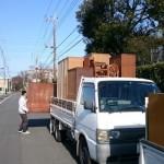 古くなった家具や布団類を全部処分して新しい物に交換