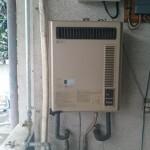 東京都昭島市でのエアコン、給湯器回収作業