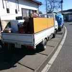 埼玉県ときがわ町での家財・家電の片付け作業事例