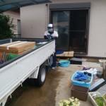 庭の片付け「一軒家の不用品回収」