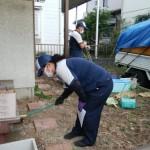 解体前の片付け「平屋一軒家の不用品回収」
