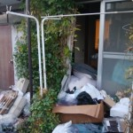 平屋一軒家の片付け「間取り2DKの不用品回収」