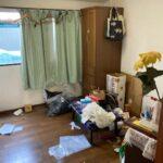 アパートの残置物撤去作業「残す物あり」