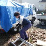 草木の伐採処分作業「家のゴミ、庭のゴミお任せください」