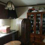 キッチンの片付け「システムキッチンリフォーム前の作業」